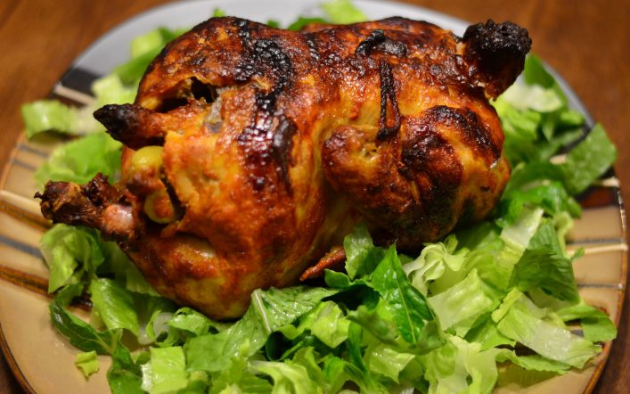 Roasted Chicken Masala Recipe